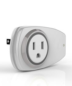 The Plum Smart Plug plugs into any outlet and connects to your home WiFi network. It allows you to turn on and off any device from your smart phone either from home or away.