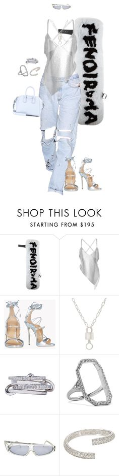 """Untitled #4473"" by kimberlythestylist ❤ liked on Polyvore featuring Fendi, Fannie Schiavoni, Dsquared2, AMBUSH, SPINELLI KILCOLLIN, Elizabeth and James, Alain Mikli, Maison Margiela and Givenchy"