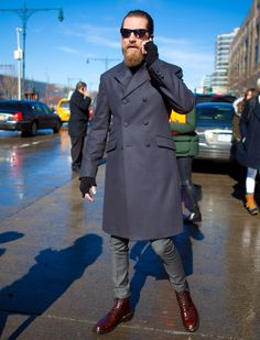 one of the most stylish men on the planet Justin O'shea, Most Stylish Men, Suit Jacket, Coat, Jackets, Fashion, Down Jackets, Moda, Sewing Coat