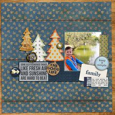 Floyd Lamb Park digital scrapbook layout by bestcee using products from the Lilypad