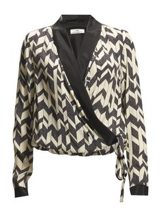 DAY BIRGER ET MIKKELSEN DAY CHEVRON BLOUSE Limited Sale Offer until Nov. 19, 2015 along with 19 other products for women and kids