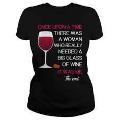 WINE  ONCE UPON A TIME | T-Shirts & Hoodies - Get Your Own a Shirt for Men & Women & Kids