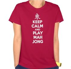 This shirt that she is definitely going to wear the next time she meets up with her group.