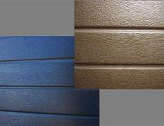 Close up - Aluzinc Horizontal Slats (Charcoal, Bronze)