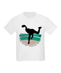 Take a look at this White 'Pitching Philosophy' Tee - Boys by CafePress on #zulily today!