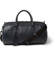 Burberry Shoes & Accessories - Textured-Leather Holdall Bag  |MR PORTER