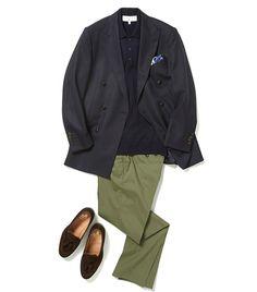 「ジャケパンでクールビズ」をシックに見せるコツ【スーツの着回し1週間チャレンジ!/ヴァルカナイズ・ロンドン編#4】 | MEN'S EX ONLINE Ivy Fashion, Modern Fashion, Mens Fashion, Fashion Outfits, Shirt And Tie Combinations, Suit And Tie, Work Casual, Business Casual, Dapper