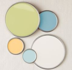 light green for one of the children's rooms?