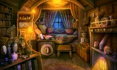 fantasy rooms scenery gaming animation landscape anime cozy