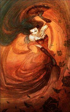 Lysandra [dancer by tahra on deviantART]