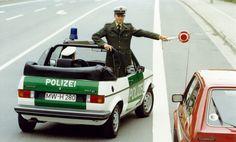 OG |Volkswagen / VW Golf GL Cabriolet Mk1 |#Polizei