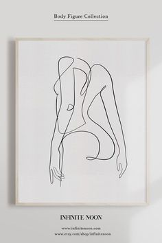 Abstract Line Art Woman s Back Nude Print One Line Female Body Illustration Wall Art Single Line Naked Printable Art Feminine Continuous Artwork One Line Drawing Female Anatomy Decor Fine Art Print -