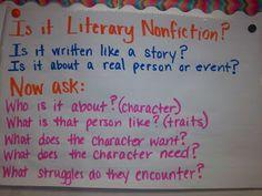 My Life as a Third Grade Teacher: Literary Nonfiction Study