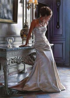 oil-paintings-by-rob-hefferan    more modern than I usually like, but the rendering of the fabric is beautiful