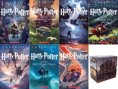 New Harry Potter Anniversary Cover Art - Ahh I really want these but I already own every book and don't need to spend the money