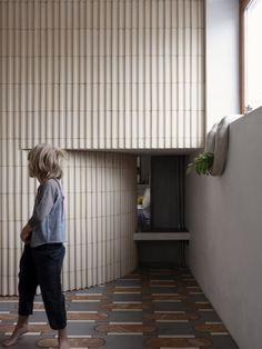 Ludivine Billaud, Cécile Bortoletti · Paris 10e Arrondissement · Divisare Space Architecture, Contemporary Architecture, Architecture Details, Beam Structure, Window Handles, Paris Restaurants, Paris Apartments, Small Apartments, Design Language