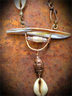 Wisdom Keepers Amulet Necklace by Maggie Zee on Etsy  shaman talisman www.maggiezee.blogspot.com
