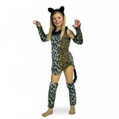 Kat kostuum kind - Dierenpakken - Meisjes - Kinder kleding - Feest-Carnaval Kleding