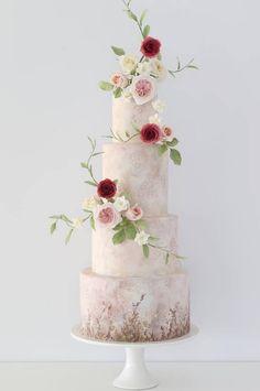 Featured Cake: Zoe Clark Cakes; www.zoeclarkcakes.com wedding cake ideas