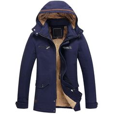 Objective 2019 Parka Men Clothes Jacket For Male Winter Jacket Men Coat Fashion Medium Length Hoodie Thickened Cotton Padded Coat Good Companions For Children As Well As Adults Men's Clothing