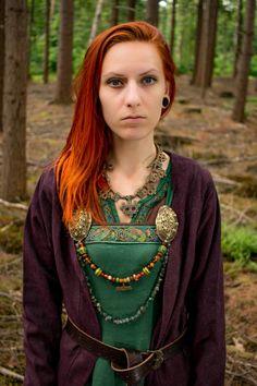 marjolein hoekendijk viking photoshoot by erik hoekendijk