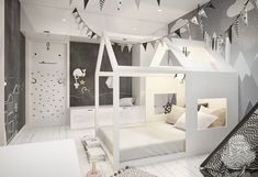 Children's room Scandinavian style