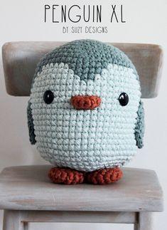 Crochet Penguin van ThisIsSuzy op Etsy