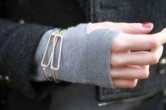 sweater: COS | coat: Storets | bracelet: unknown
