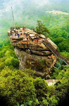 Chimney Rock, North Carolina: