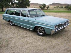 1966 dodge polara wagon