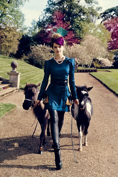 Emma Watson for Teen Vogue - love the seeing and accessories (ponies included)