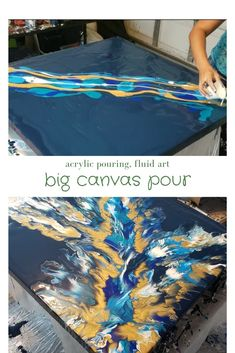Big Canvas Pour Fluid Art Molly S Artistry Large Canvas Acrylic Pour Blow Dryer Technique Fluid Art Abstract Art Art Fluid Acrylics Painting Acrylic Painting Gallery Art Abstract Art Diy, Abstract Art Painting, Art Painting, Diy Abstract Canvas Art, Large Canvas Art Diy, Art Painting Acrylic, Acrylic Painting Diy, Acrylic Painting Canvas