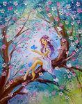 Мобильный LiveInternet Волшебная сказка! Потрясающий мастихин Viola Sado   Madam_Irene - Дневник Мадам Ирэн.  