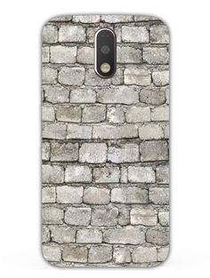 Against The Brick Wall - Designer Mobile Phone Case Cover for Moto G4