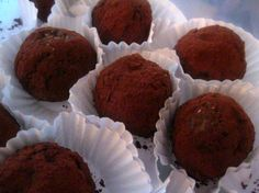 Nut and Hulled Hemp Seed Whey Protein Truffles