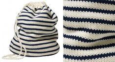 Le sac de marin en tricot http://www.prima.fr/mode-beaute/tricot-sac-jersey-facile/7943625/