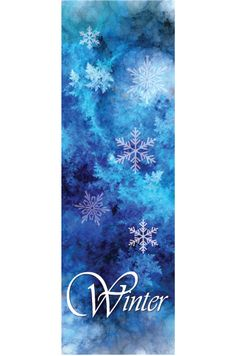 Winter Holiday Banners Cold Drink Banners