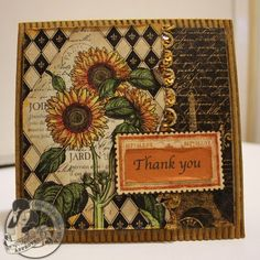 Denise Hahn for Graphic 45 using French Country paper collection making step cards, March 2013