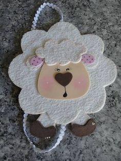 MARCADOR DE PAGINA EM EVA COM CD. VÁRIOS BICHOS. Sheep Crafts, Felt Crafts, Diy And Crafts, Crafts For Kids, Felt Bookmark, Felt Hair Clips, Hair Decorations, Patch Quilt, Cartoon Kids