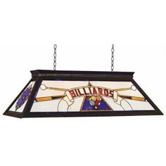 Put your name on itpersonalized pool table light box style green from ram gameroom products this billiards series pool table light will brighten up any game room the framing stained glass is metal which gives the light greentooth Choice Image