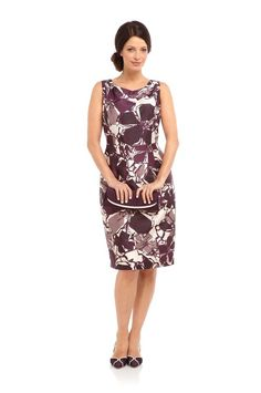 New Jacques Vert dress 20 Retro shift Plum Multi Ivory Floral abstract rrp , Going Out Dresses, Dresses For Work, Formal Dresses, Women's Fashion Dresses, Maxi Dresses, Occasion Wear, Mother Of The Bride, Women Wear, Mens Fashion