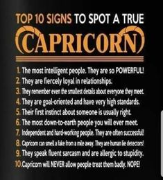 Capricorn - always see the good in people around them as well OMG.this is like the first actual true one Ive ever readm Capricorn Love, Capricorn Facts, Capricorn Quotes, Zodiac Signs Capricorn, My Zodiac Sign, Zodiac Quotes, Zodiac Facts, Capricorn Tattoo, Capricorn Qualities