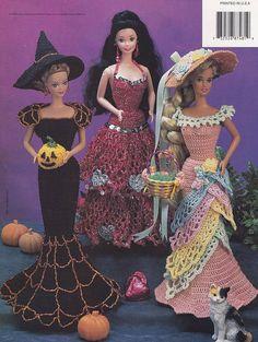 Urlaub Kostüme Annie Attic häkeln Mode Puppenkleidung Muster