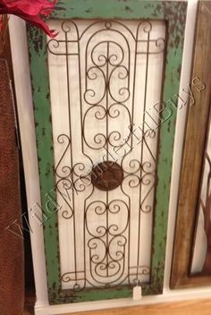 Garden Gate Wall Decor gate wall art -dishfunctional designs: don't fence me in: creative