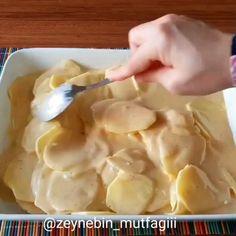 Cream Recipes, My Recipes, Cake Recipes, Turkish Recipes, Ethnic Recipes, Polish Recipes, Creative Food, Food Design, Food Videos