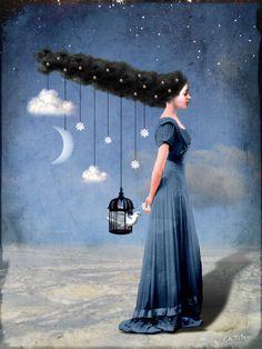'Liberty' von Catrin Welz-Stein bei artflakes.com als Poster oder Kunstdruck