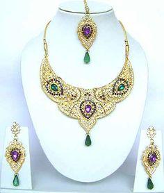 Diamond Bridal Jewelry Set JVS-1681