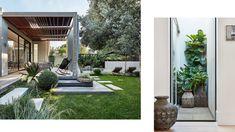 Australian Architecture, Australian Homes, Outdoor Life, Outdoor Gardens, Modern Gardens, Small Gardens, Outdoor Spaces, Melbourne House, Modern Pergola