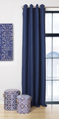 tiffany grommet curtain panel rideau oeillets 54x85. Black Bedroom Furniture Sets. Home Design Ideas