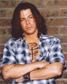 Christian Kane  Yeah, the tats are fake but oh so damn sexy!